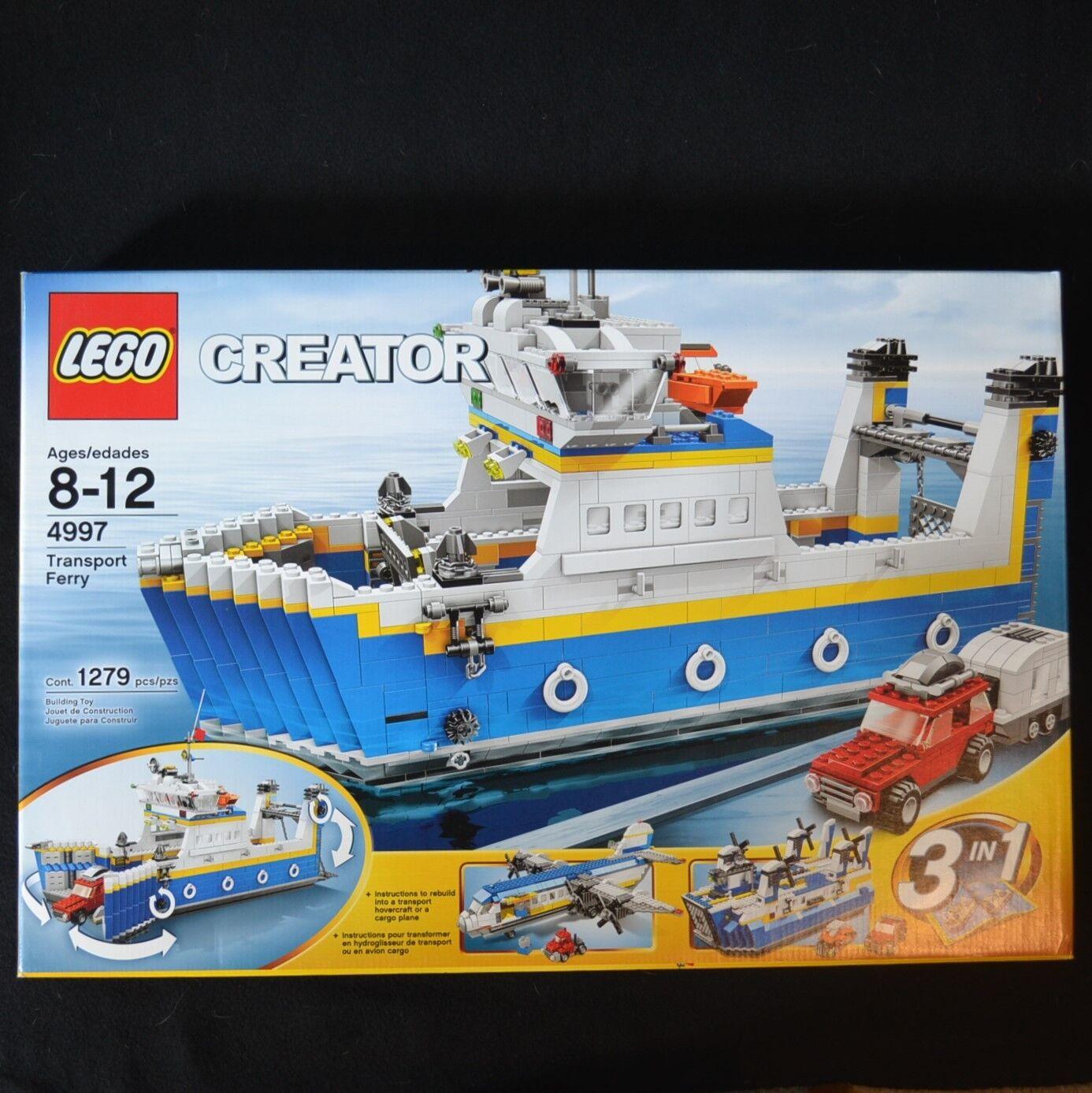 NISB LEGO Creator Transport Ferry 4997 - Free US Shipping