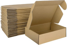 Mebrudy 7x5x2 Inches Shipping Boxes Pack Of 25 Small Corrugated Cardboard Box F