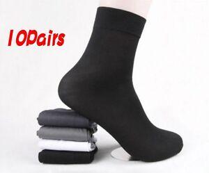 10-Pairs-Man-039-s-Short-Bamboo-Fiber-Socks-Stockings-Middle-Socks-4-Colors-d6