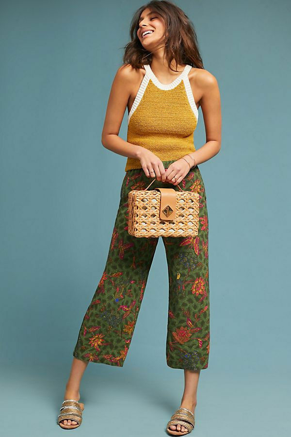118 Anthropologie Schuyler Printed Pants  NWT new size XS