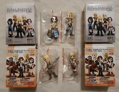2 Basch nouveau Final Fantasy XII FF12 action figure Trading Arts Mini Vol