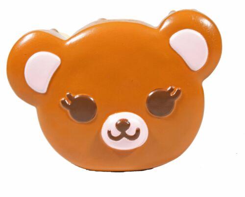 ibloom Tea Time Bear Squishy Cocoa Bear Brown Color