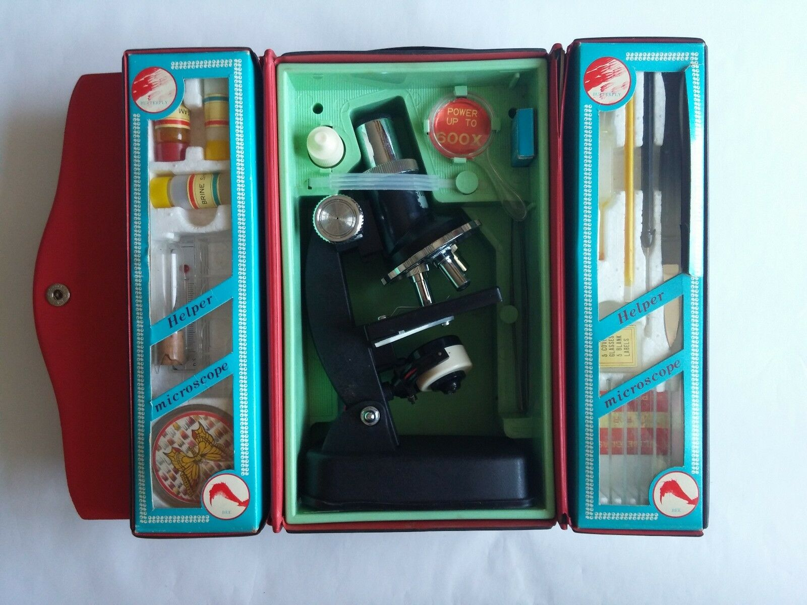 Vintage Kids Research Microscope Kit