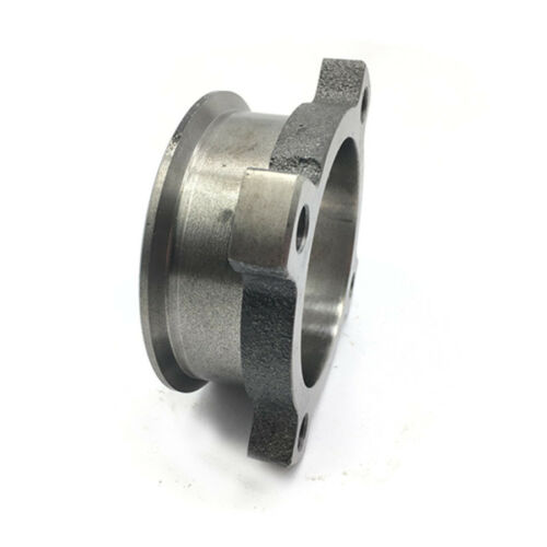 """Metal 3/"""" Wide 4 BOLT TO 3/"""" V-BAND Adaptor T3 GT3582 GT35 Turbo Exhaust Flange"""
