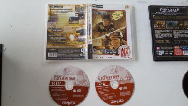 Delta Force: Black Hawk Down + extension Team Sabre PC FR