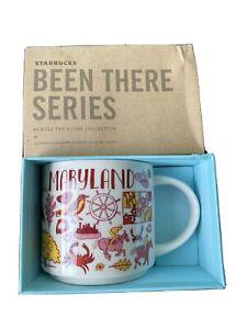 "Starbucks  Maryland mug ""been there collection"""