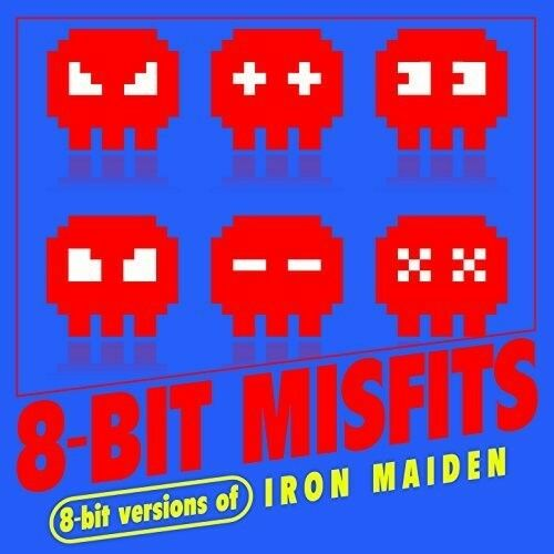 8-Bit Misfits - 8-Bit Versions of Iron Maiden [New CD] Manufactured On Demand