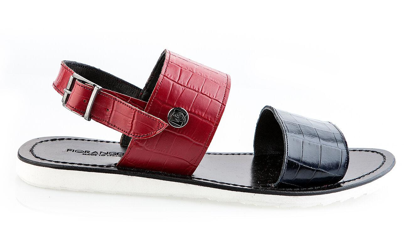 FIOrangeLO Sandales en cuir italien Neuf Tailles 40,44