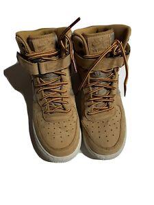 NEW Nike Air Force 1 Wheat Gum Boys