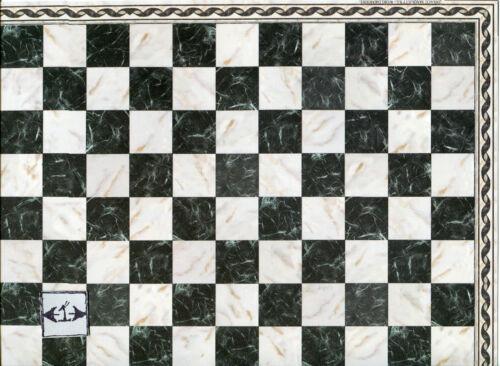 Faux Marble Tile Floor Sheet  34733 dollhouse 1pc World /& Model card stock
