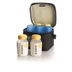 Handmilchpumpen Ernährung Offen Medela Kühltasche Für Muttermilch Für 4 Flaschen 150ml