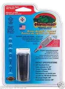 Gator-Grip-ETC120-3-8-034-drive-SAE-Universal-Socket-Standard-NEW