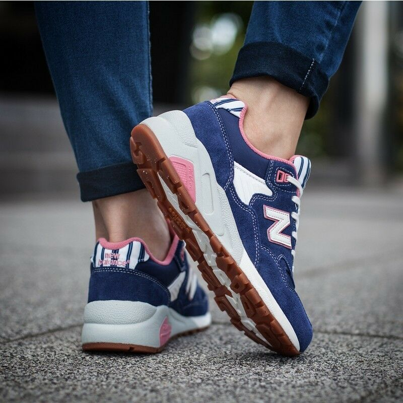 NEW IN BOX WOMENS NEW BALANCE NB 580 WRT580RH CLASSIC CASUAL RUNNING SHOES 5-8