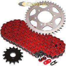 RED O-Ring Drive Chain & Sprockets Fits KAWASAKI ZR1000 Z1000 SX 2011-2015