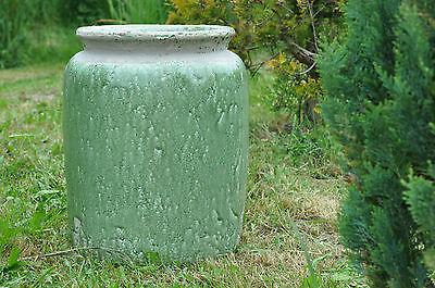 1x Blumenübertopf, Vase, Krug, Keramik Gefäß, Übertopf, Topf H:41cm, Ø30cm, 13kg
