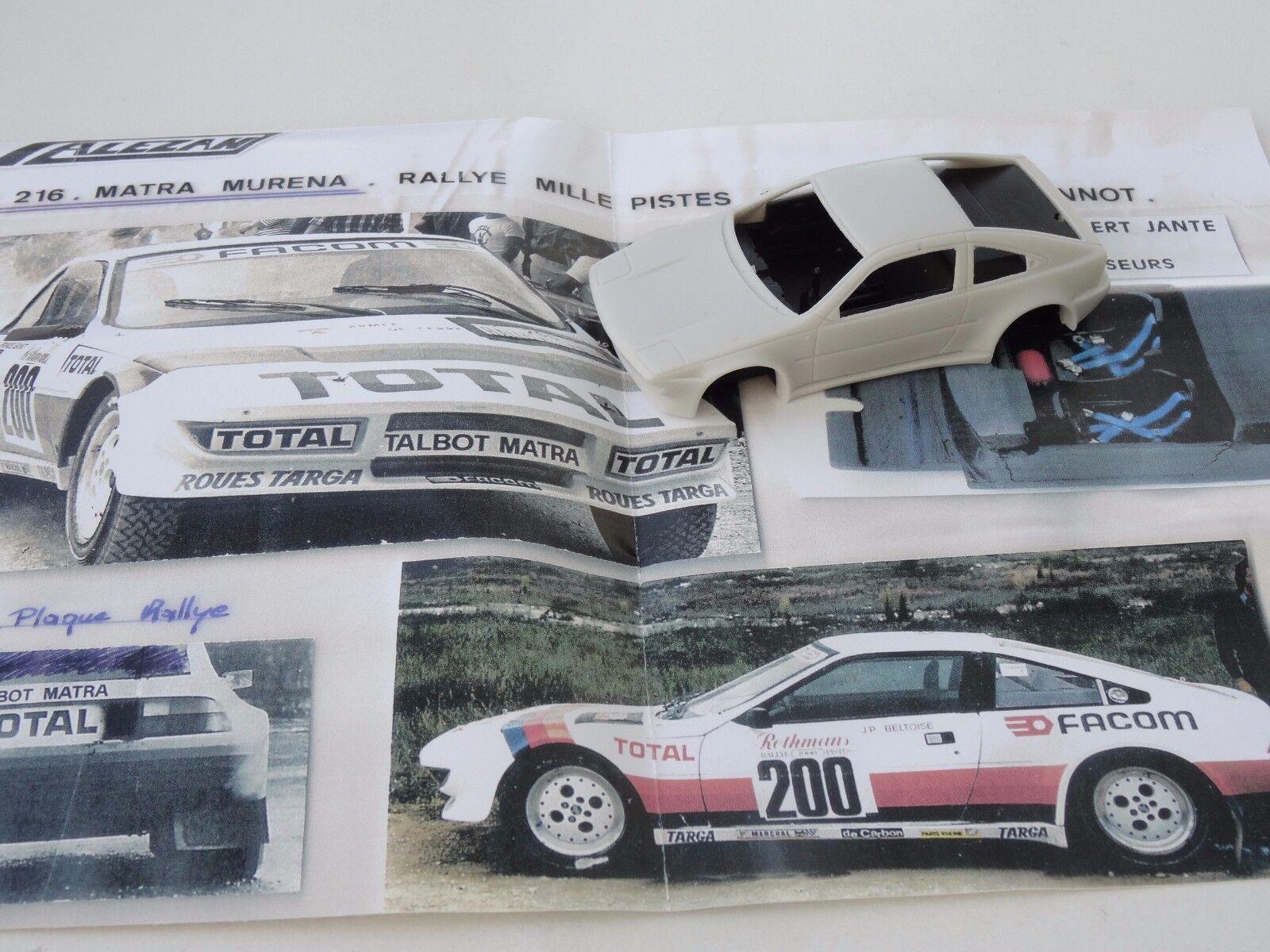 Chestnut models. 1 43. matra murena. total.  thousand trails. beltoise 1981.  pas cher en haute qualité