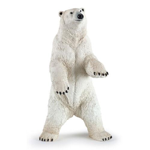 PAPO ours polaire debout animal figure nouveau