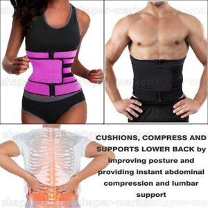 776abc7c18 Waist Trainer Ultra Sweat Bands Trimmer Belts Corset Weight Loss Men ...