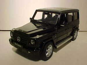Mercedes Box Suv >> Details About Mercedes Benz G Class Suv Wagon Diecast Car 1 24 Welly 7 Inch Black Loose No Box