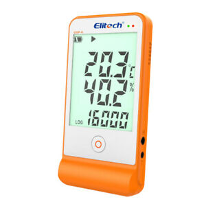 Thermometer Elitech GSP-6S LCD Temperature Humidity Hygrometer Data Logger