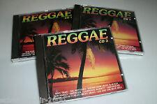3 CD'S REGGAE MIT BOB MARLEY DILLINGER GREYHOUND THE REGGAE MASTERS CAROL COOL