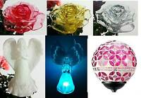 Solar Powered Garden Decor Stake Color Changing Yard Led Outdoor Landscape Light