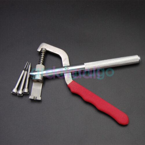 HUK Auto Remote Car Key Blade Pin Disassembling Clamp Lock Piler Lock Tools