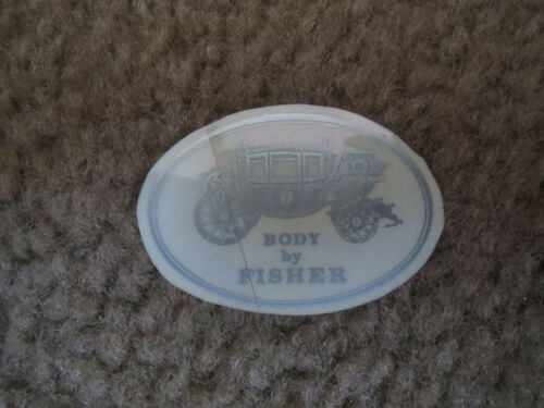 1928 1929 1930 1931 1932 CHEVROLET BODY BY FISHER DECAL STICKER NEW