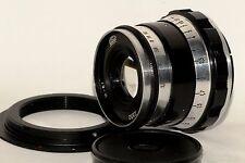 Industar-61 52mm 50mm f/2.8 lens M39 Zorki Leica 35mm RF film camera + adapter