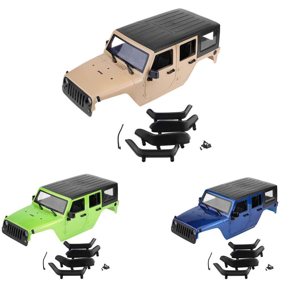 Canopy Body Shell duro para Jeep Wrangler RC 1 10 SCX10 D90 Rock Crawler Camión