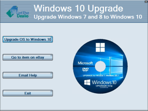 upgrade from windows 7 to windows 10 for free