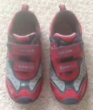 BOY'S GEOX TRAINERS - SIZE 11 INFANT KIDS (GREAT CONDITION)