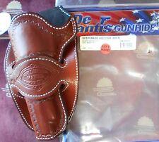 """Desantis Desperado Cowboy Holster Colt SAA,Ruger Vaquero 51/2""""Bbl Tan Left"""