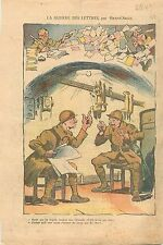 Caricature Bidasse Soldats Casemate d'intervalle de la ligne Maginot  WWII 1939