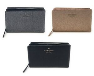 Kate-Spade-Joeley-Glitter-Medium-Bifold-Wallet-Card-Holder-WLRU5762-149