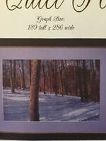 A Quiet Place Cross Stitch Pattern Only L554 Trees