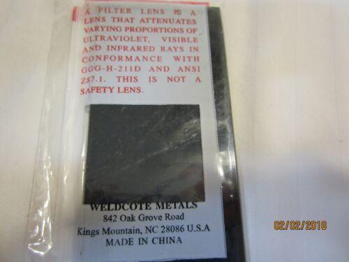 "Shade 12 2/"" x 4-1//4/"" Weldcote Metals Glass Welders Filter Lens"