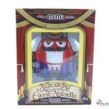 M&Ms (MandM M&M's MMs) Red Nutcracker Sweet Candy Dispenser NEW in box