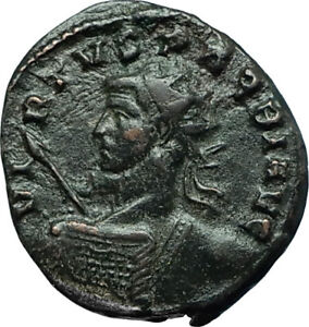 PROBUS-Very-Rare-VIRTVS-PROBI-Authentic-Ancient-276AD-Roman-Coin-w-VIRTUS-i66585