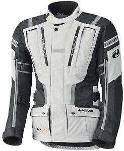 HELD-HAKUNA-II-Uomo-Giacca-Motociclista-impermeabile-touring-nero-grigio