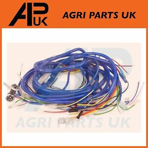 ford 2000 3000 4000 4100 tractor wiring harness loom dynamo type seeimage is loading ford 2000 3000 4000 4100 tractor wiring harness