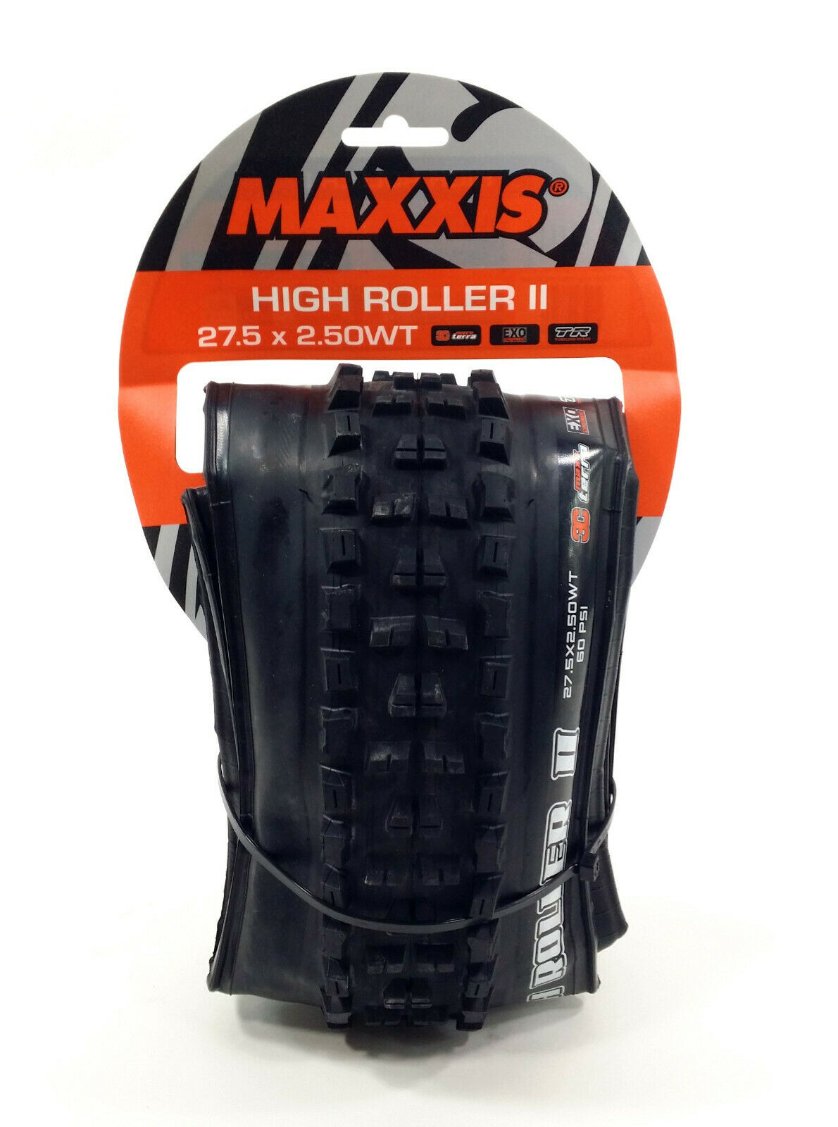 Maxxis High Roller II  WT Tire 27.5 x 2.5  60tpi 3C MaxxTerra EXO Tubeless  amazing colorways