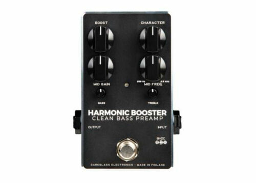 Darkglass Electronics Harmonic Booster 2.0 Bass Preamp FREE 2 DAY SHIP