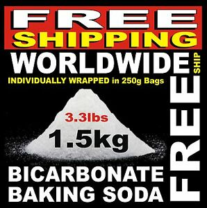 1-5kgs-3-3lbs-Baking-Powder-Bicarbonate-Soda-Sodium-Bi-Carb-Bath-Bombs-amp-Fizzies