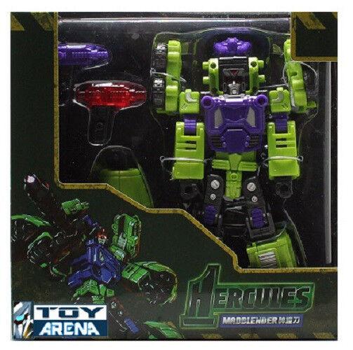 TFC Spielzeugs Hercules Mad Blender Devastator X Transformer MadBlender Figure New