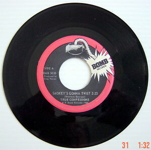 ONE-1980-039-S-45-R-P-M-RECORD-TRUE-CONFESSIONS-SMOKEY-039-S-GONNA-TWIST-MATING-GAM