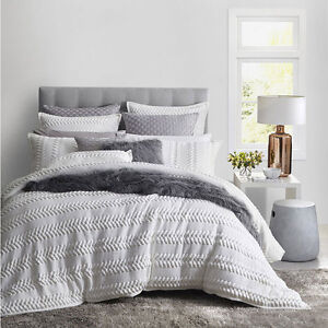 Private Collection Lizette White Queen Size Bed Doona