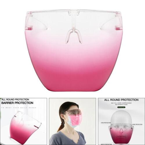 Safety Face Shield Glasses Reusable Full Face Helmet Goggles Breathable Visor