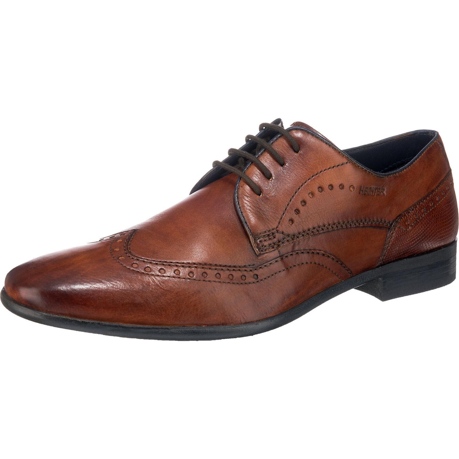 Neu DANIEL HECHTER Business Schuhe 5777340 für Herren cognac
