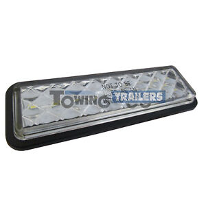 LED-Autolamps-135WMGE-MultiVolt-Trailer-Gromet-Mount-Slim-Reverse-Light